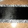 Zebra desen deri kesme halı tasarımları