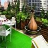 balkonlar için çim halı