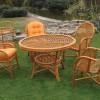 bambu bahce mobilyalari