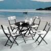 dekoratif bahce masa ve sandalye takimi