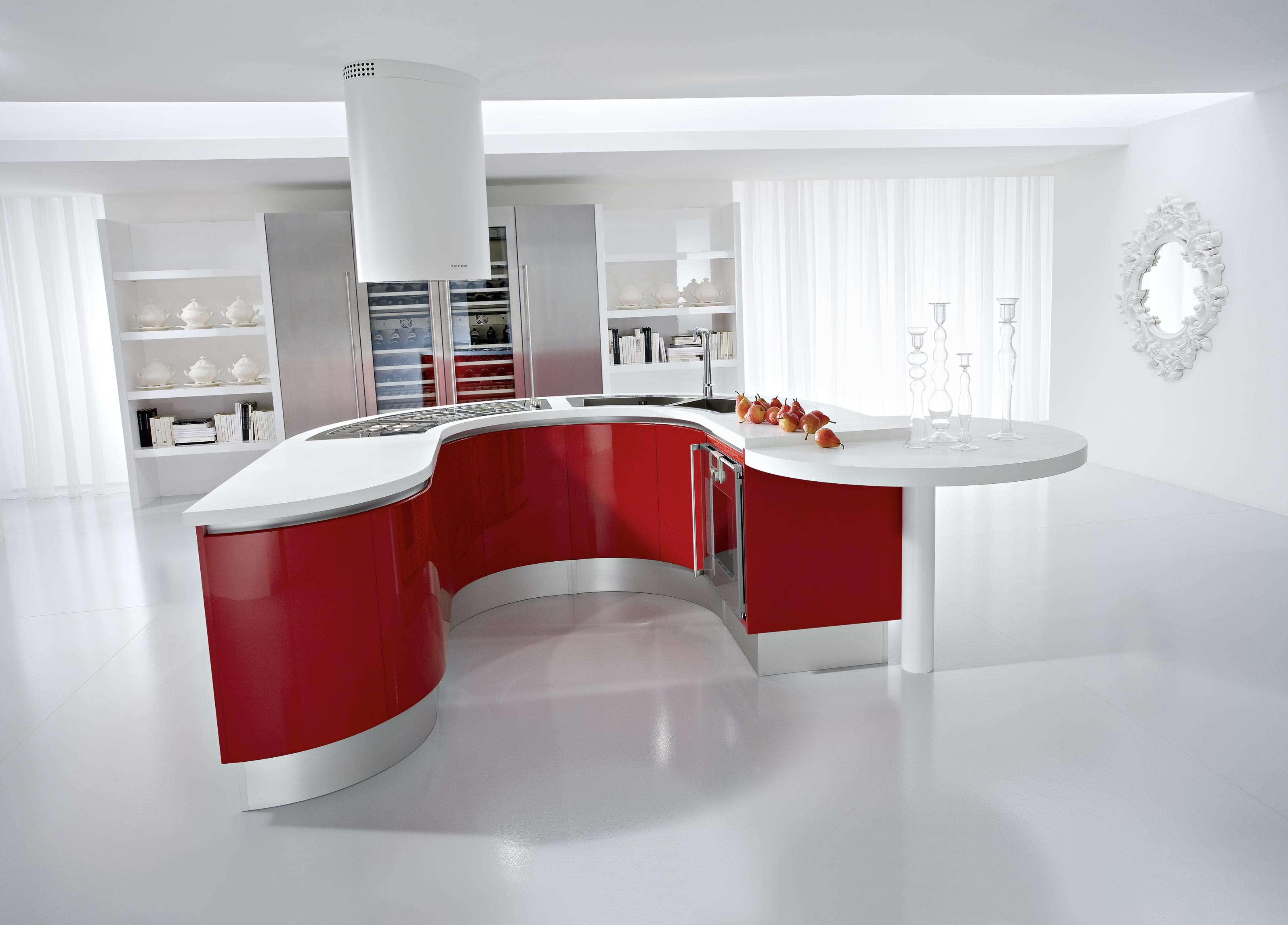 geometrik mutfak tezgahi
