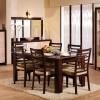 ikea kahverengi yemek masası