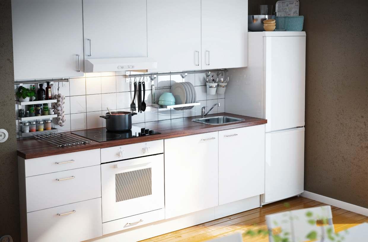 Интерьеры кухонь икеа фото