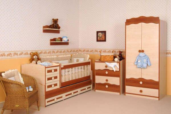 kahverengi bebek odası