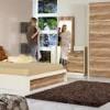 kahverengi yatak odası