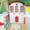 mantar ev bebek odası
