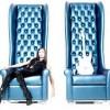 mavi büyük koltuk