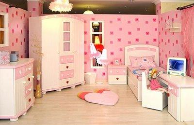 pembe bebek odası modeli