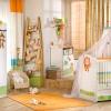 resimli bebek odası