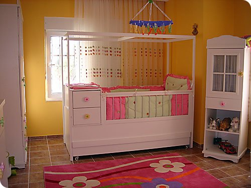 sade bebek odası