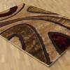 shaggy kahverengi halı