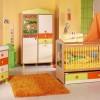 turuncu bebek odası