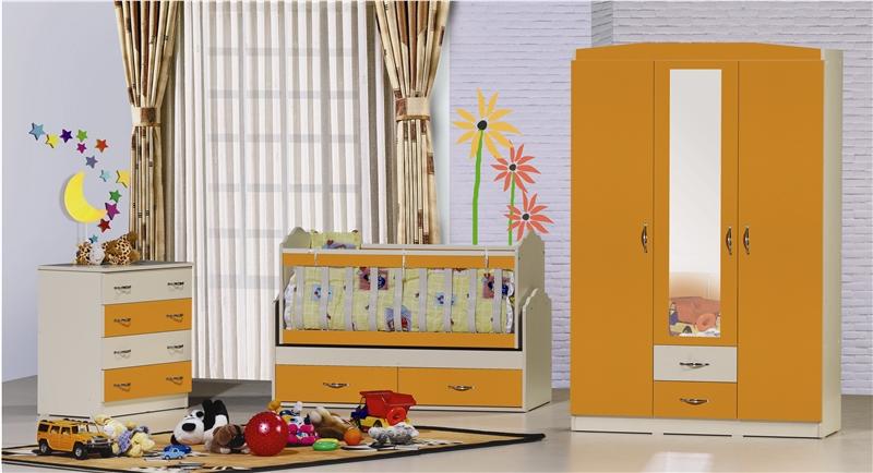 turuncu bebek odası modelleri
