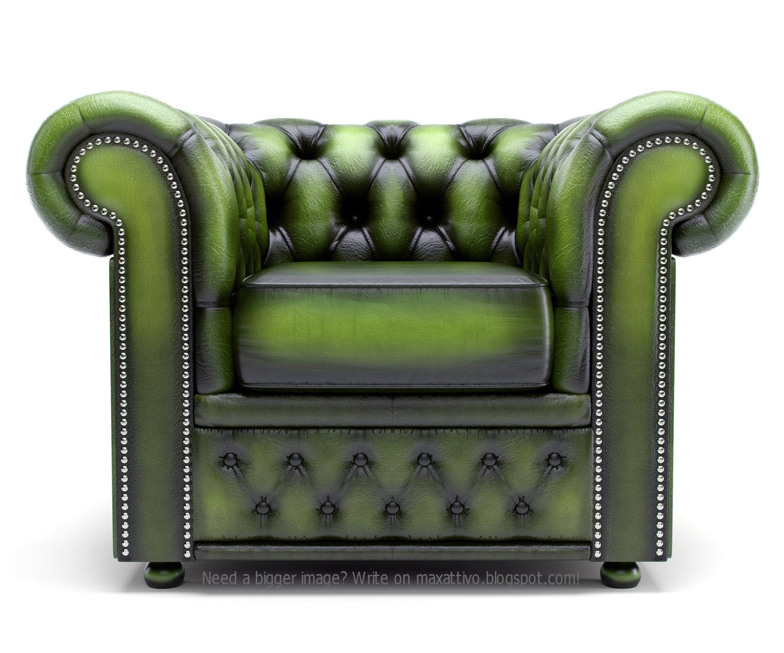 yeşil düğmeli koltuk