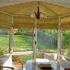 kumaş bahçe perde tasarımları
