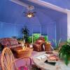 renkli jaluzi kış bahçesi perde tasarımları