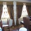 salonlar için rustik perde