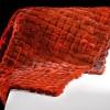 turuncu peluş halı