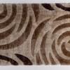 yuvarlak desenli tüylü halı örnekleri