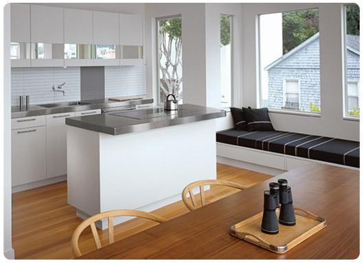 L tipi mutfaklarda dekorasyon