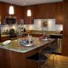 akrilik L mutfak dolapları