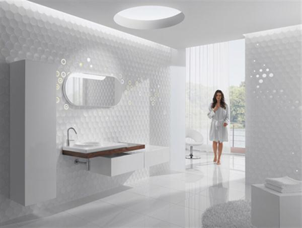 Azulejos Baño Bauhaus:Ceramic Tile Bathroom Designs