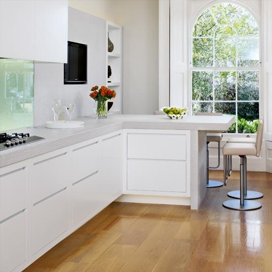 modern L mutfak dolapları