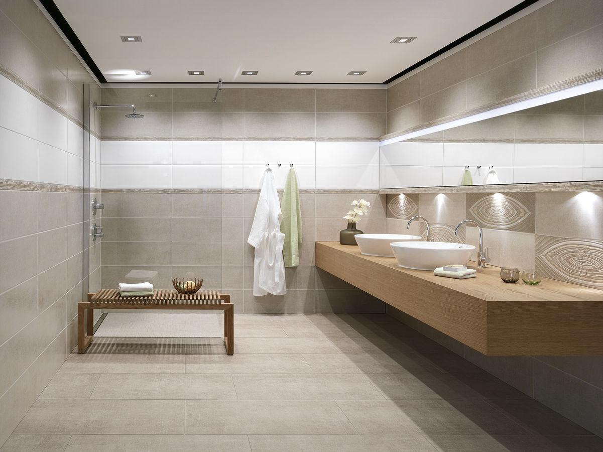 K tahya seramik banyo duvar dekorasyonu banyo fayans for Buchtal carrelage