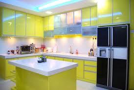 sarı L mutfak modelleri