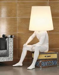 İlginç Yatak Odası Abajur Modeli