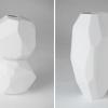 Beyaz Modern Vazo Tasarımı