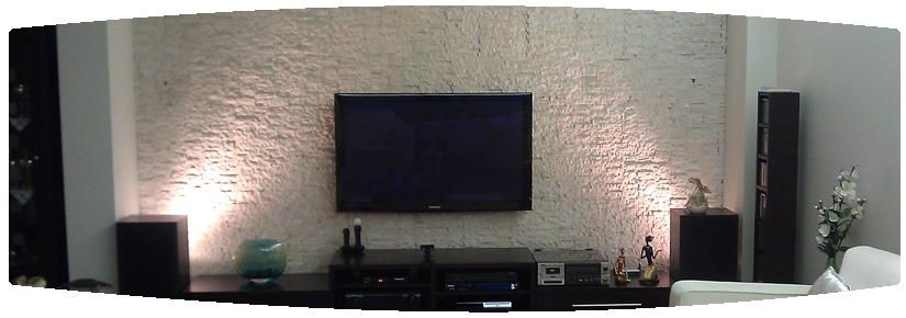 Modern Taş Duvar Kaplama Örneği