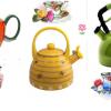 Renkli Çaydanlık Modeli