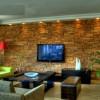Televizyon Arkası Taş Duvar Kaplama Tasarımı
