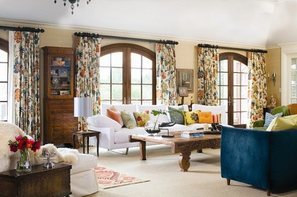 American-Living-Room-Curtains