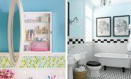 Banyolarınızda Eski Mobilyalarınızla Harikalar Yaratın