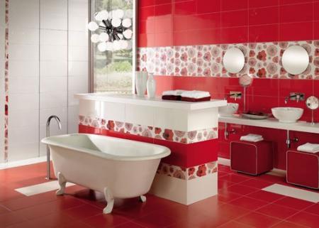 Küvetin Kırmızı banyoda Önemi