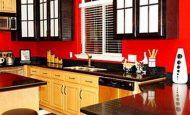 Kırmızının Mutfaklardaki Uyumu
