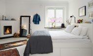 Yatak Odasında Depolama Alanları Ayırın