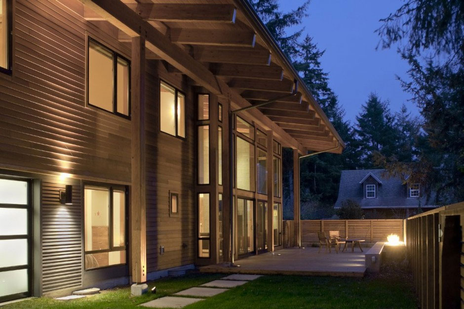 The Wooden Mulligan Residence by Scott Edwards Architecture 2