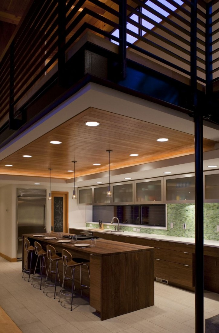 The Wooden Mulligan Residence by Scott Edwards Architecture 7