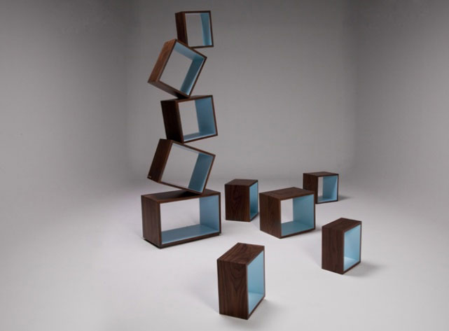 Equilibrium Bookcase by Malagana Design 5