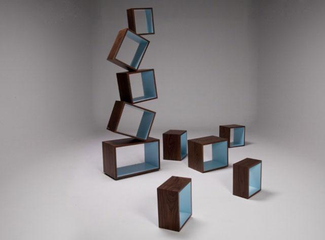 Equilibrium Bookcase by Malagana Design 5