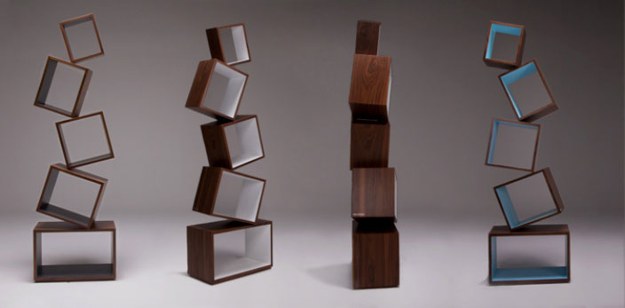 Equilibrium Bookcase by Malagana Design 6