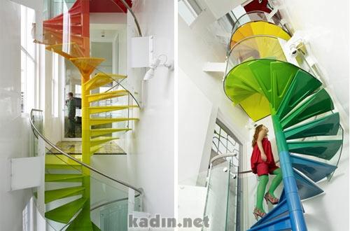 Muhteşem Merdiven Tasarımları (4)