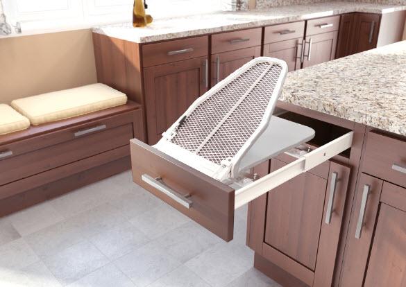 Mutfak çekmece ütü masası modeli