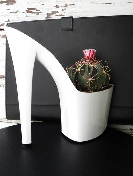 Ayakkabı Saksı Tasarımları