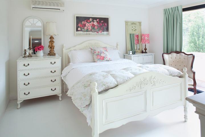Yatak Odanızda Wintage ile Beyazın Uyumu