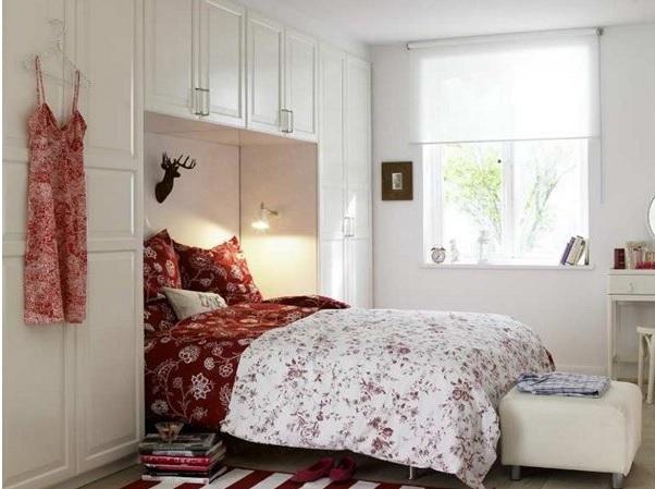 Küçük Yatak Odalarını Geniş Gösteren Fikirler