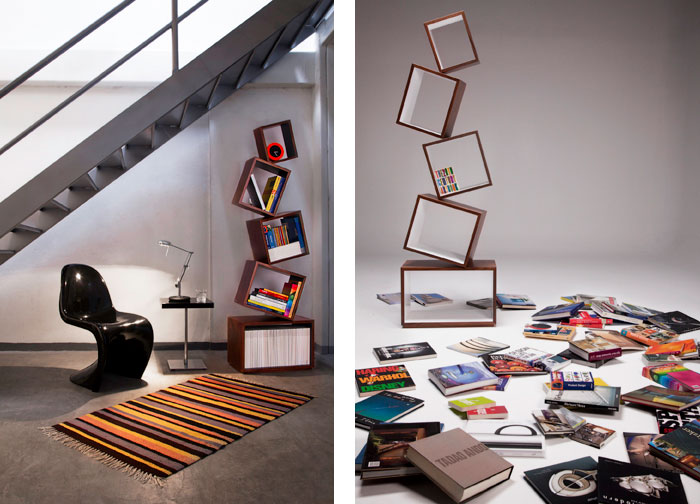 Equilibrium Bookcase by Malagana Design 3